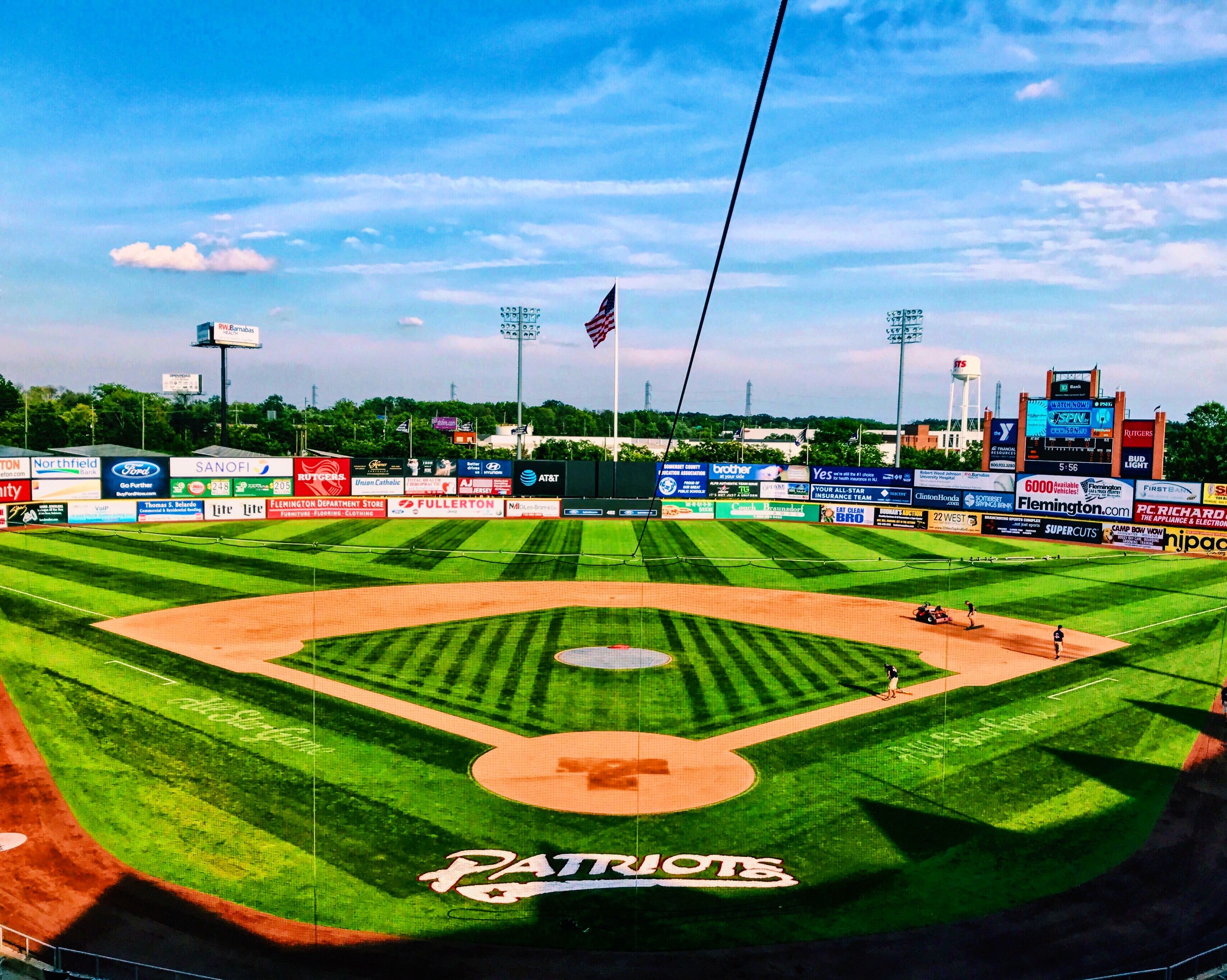 Picture Perfect Day For Baseball New Jersey The Incredibles Baseball