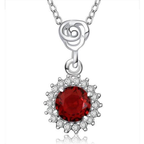 [$2.90] Fashionable Zircon Encrusted Silver Plated Jewel