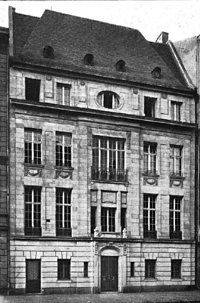 Behrenstraße 6.. von Alfred Messel.. 1901 Berlin
