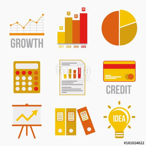 business #finance #icon #credit #spreadsheet #chart #marketing
