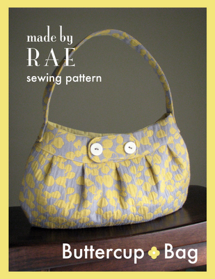 Full size pattern, easy instructions, cute and elegant handbag! Make in an afternoon.
