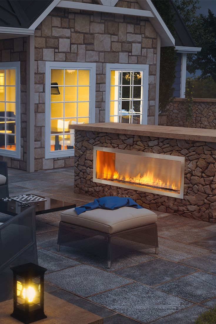Regency Hzo60 Outdoor Gas Fireplace Outdoor Gas Fireplace