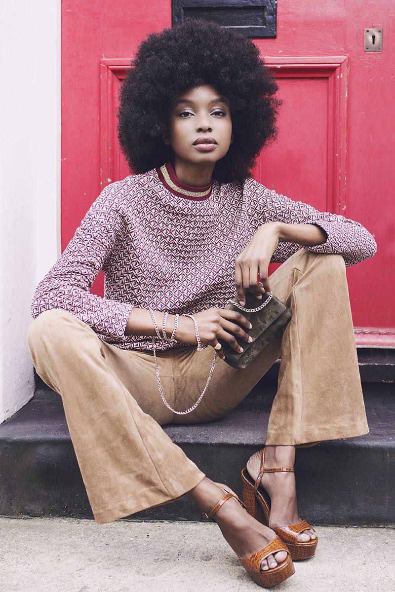 7b2bebe89aea9 Afrodisiac – Bisous Natasha with an ensemble of 70s inspired outfits ...