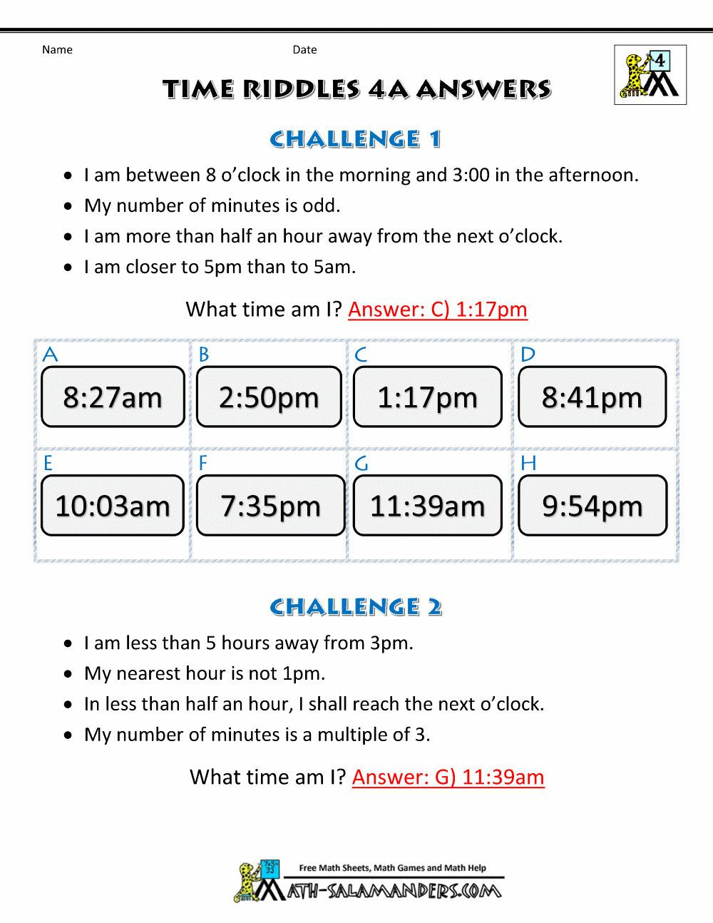 Elapsed Time 3rd Grade Worksheets 5 Free Math Worksheets Third Grade 3  Telling Time Elapsed   Time worksheets [ 1294 x 1000 Pixel ]