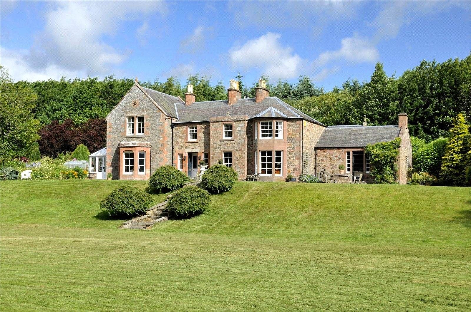Melrose, Roxburghshire, TD6, A Luxury Home For Sale In Roxburghshire,  Cities In Scotland   EDN160311   Christie