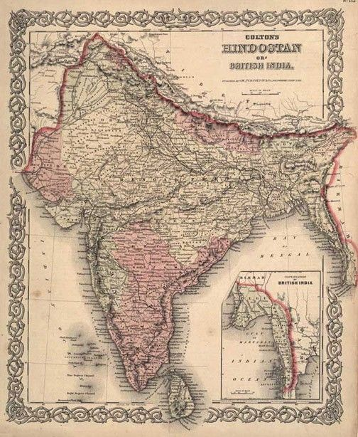 I 3 India India Map Ancient India Map Map