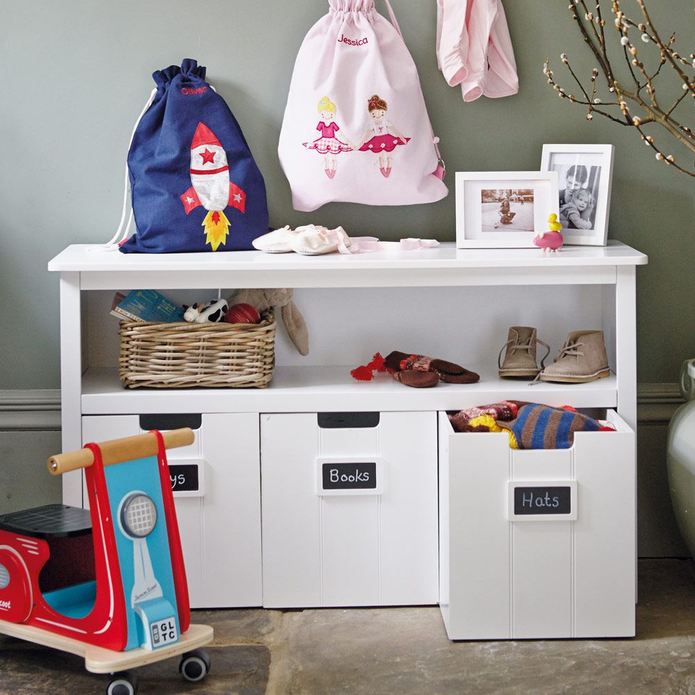 Easy Reach Storage Unit (with White Drawers)   Toy Storage Units   Toy  Storage