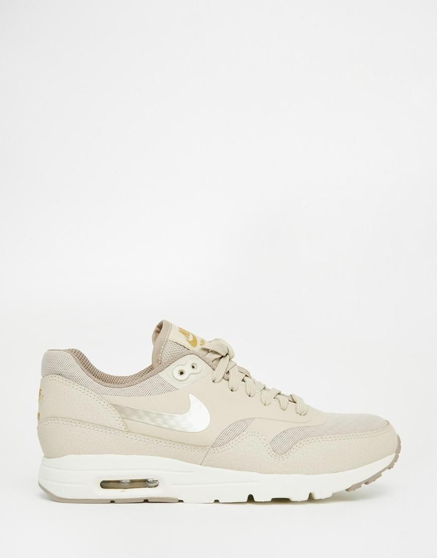 Nike | Nike Air Max Essentials Beige Trainers at ASOS