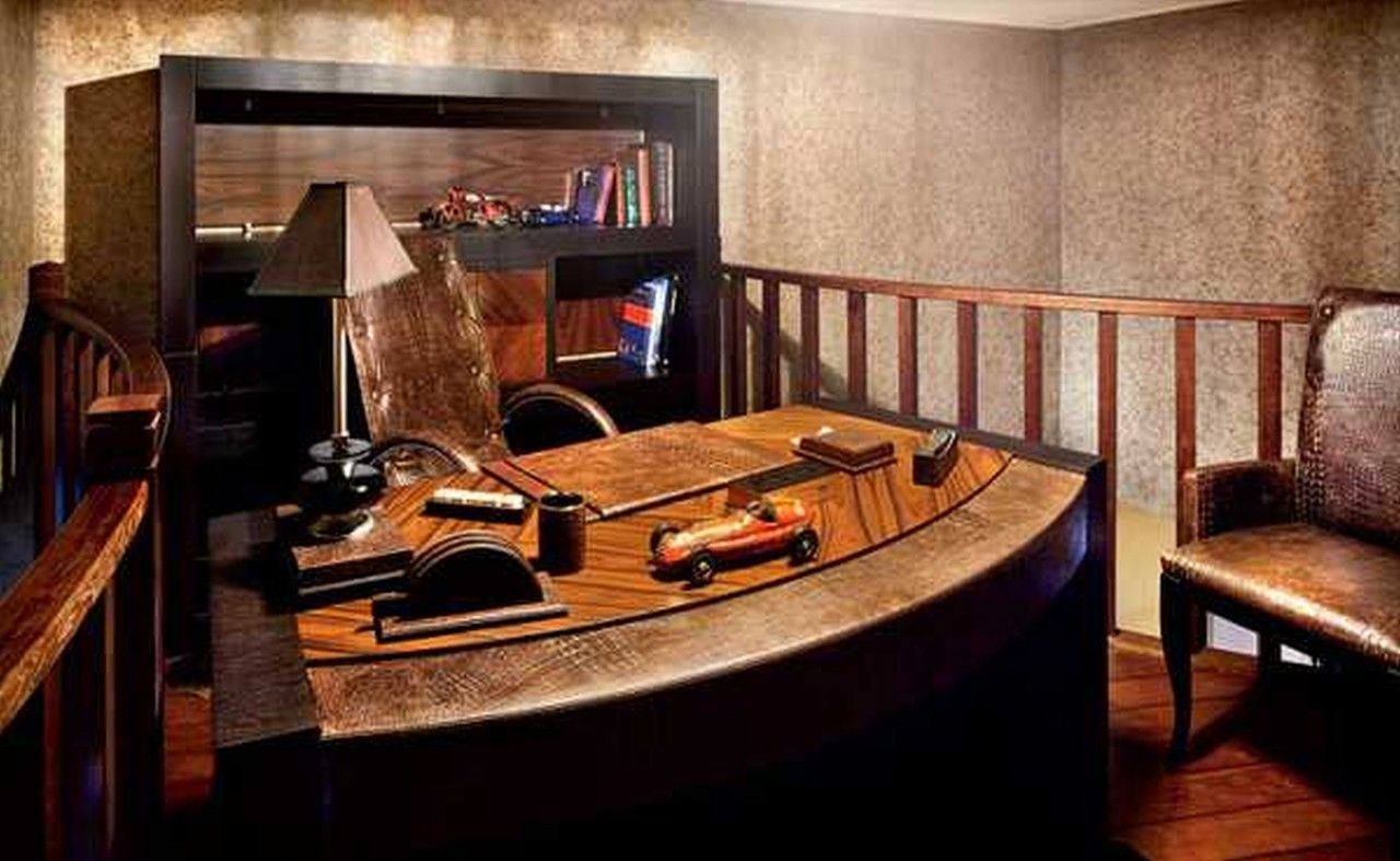 Elegant Home Office Ideas For Men Wood Furniture Luxury Home