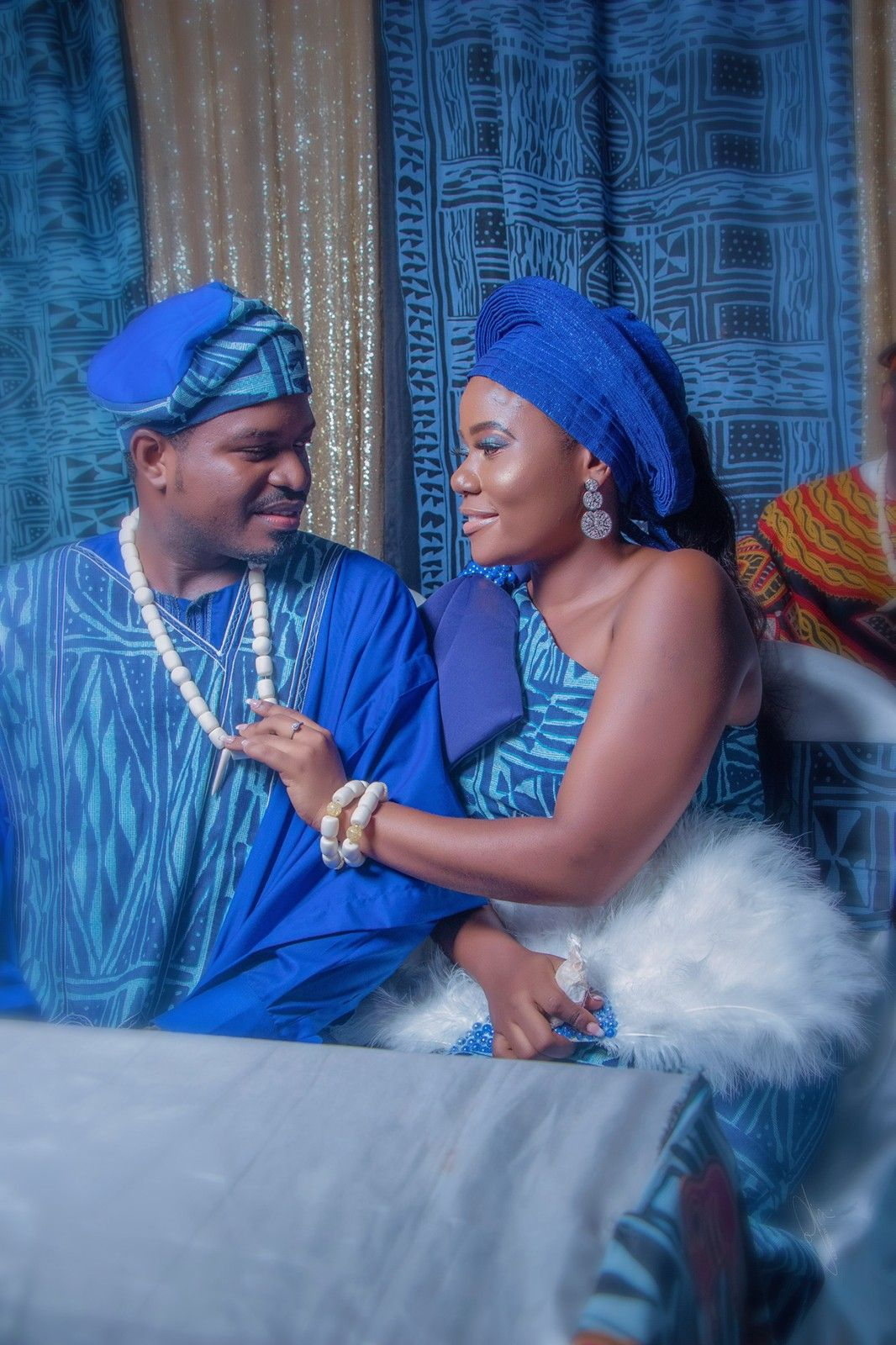 Cameroon traditional wedding oufit couple outfits