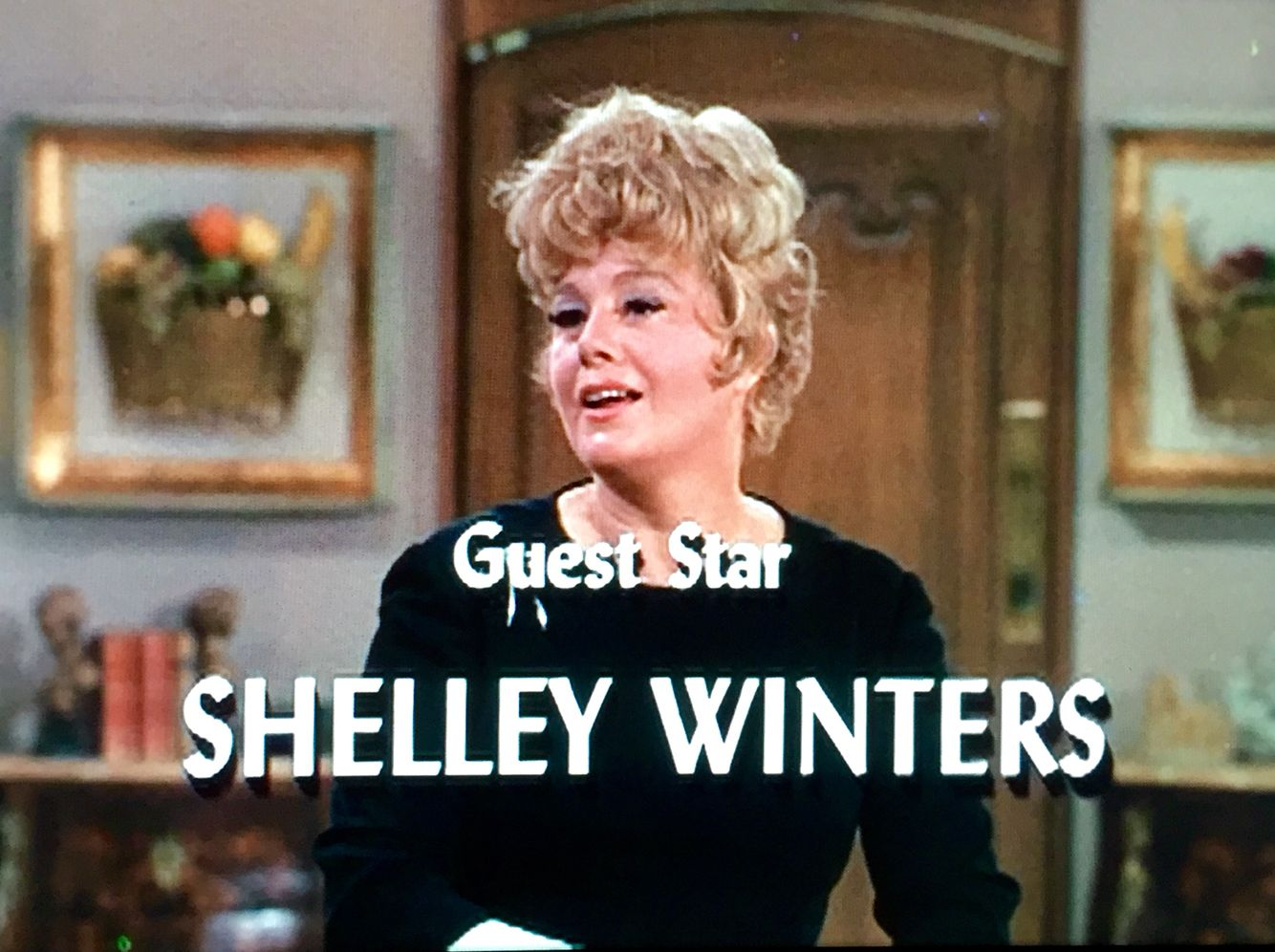 """Shelley guest stars on Here's Lucy, S1:E4 """"Lucy and Miss Shelley Winters"""""""