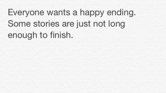 That happy ending.