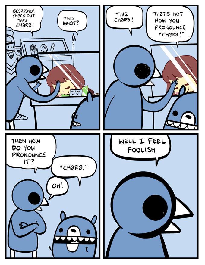Pronunciation Issues Undertale Funny Comics Comics Funny