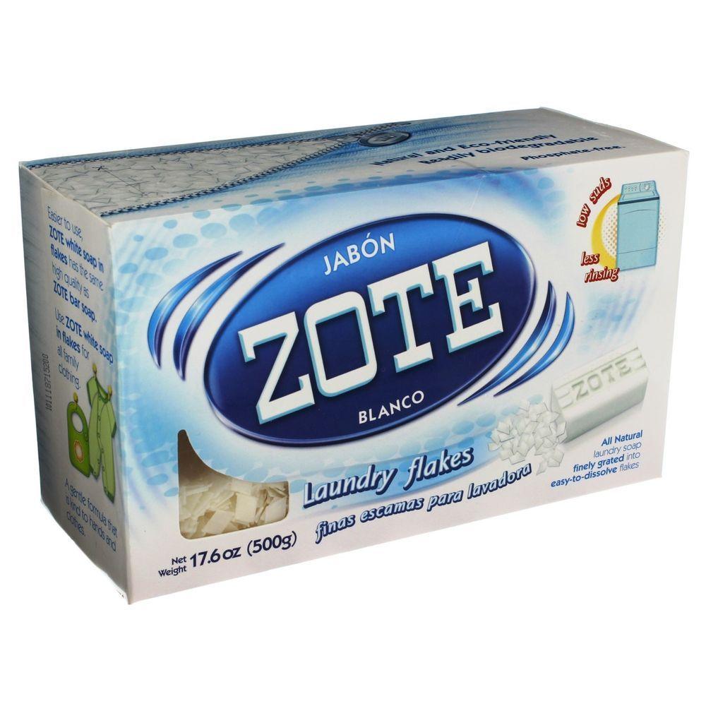 Zote Laundry Soap Flakes Eco Friendly Laundry Detergent 17 6 Oz