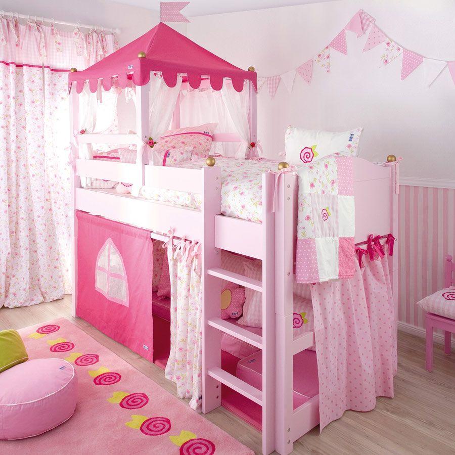 Gardinen im Mädchenzimmer Kinder