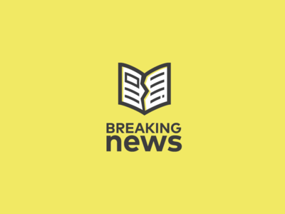 Breaking News Logo Branding Design Logo Logos Logo Design