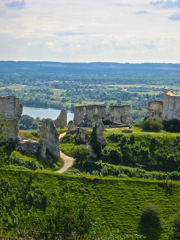 Chateau Gaillard (1198)   Normandy france, Normandy and France