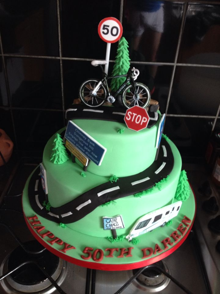 Cycling Cake Cake In 2019 Cake Bicycle Cake Dad