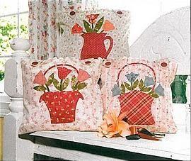 Craft Room: Almofadas Floral