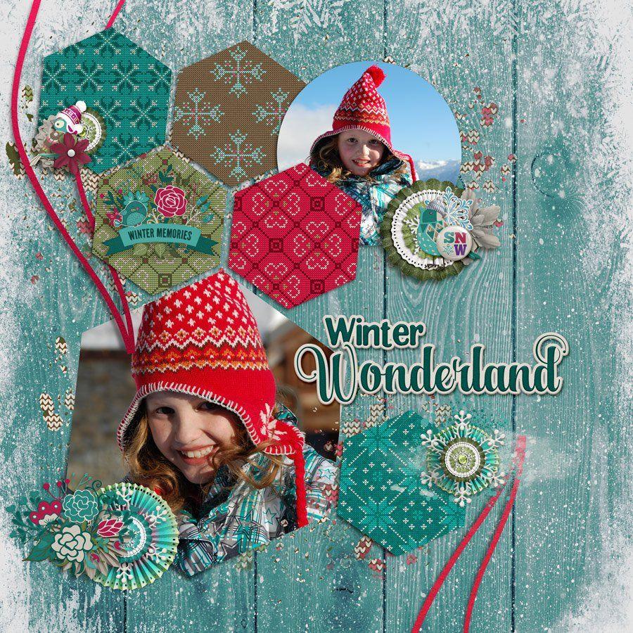 Winter Wonderland - Scrapbook.com