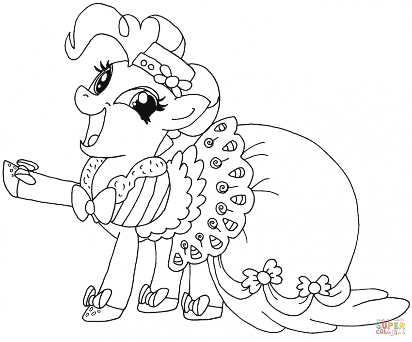 My Little Pony Coloring Pages Pdf Coloring Areas In 2019