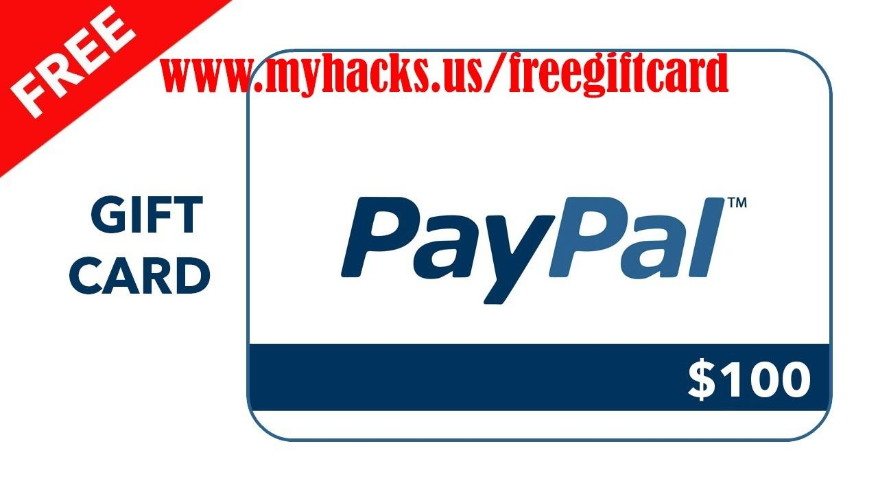 How to get PayPal gift card cord for free 2017 | PayPal Gift Card ...