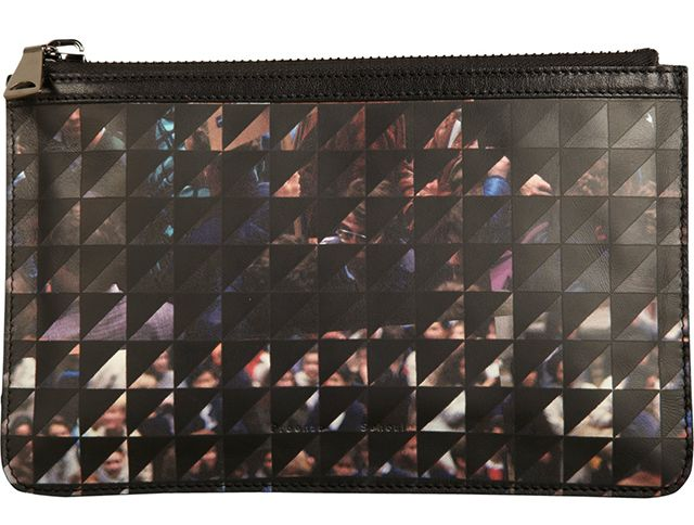 Proenza Schouler Triangle Check Pouch