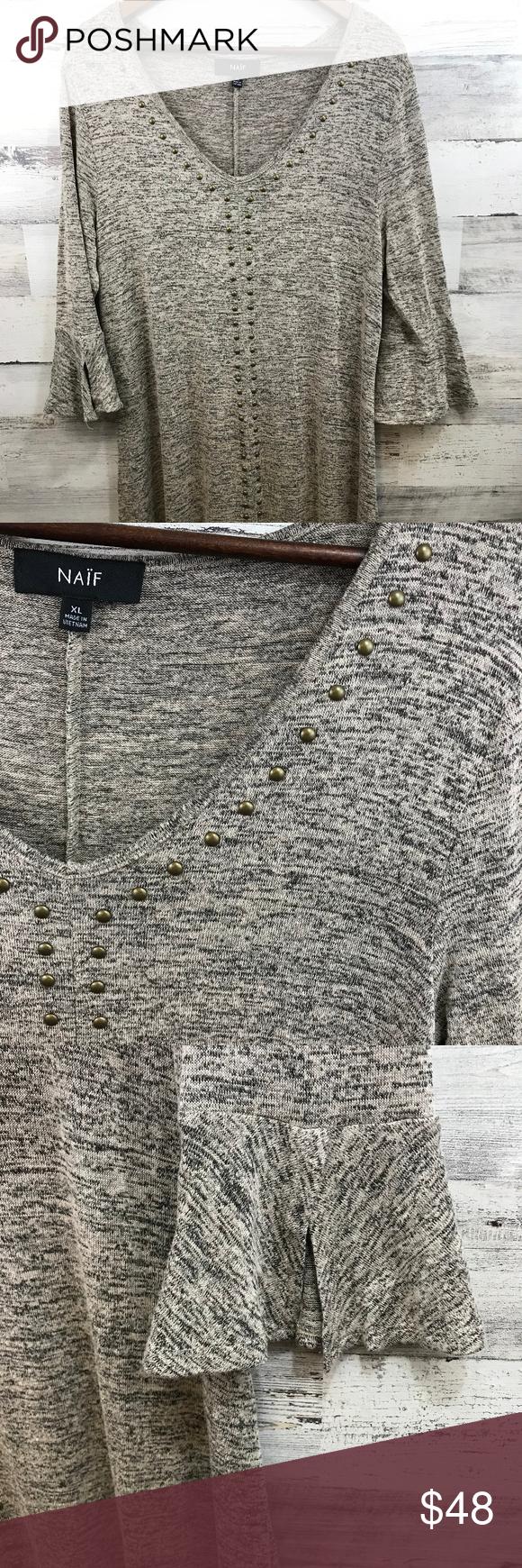 NAIF Heather Grey Dress [519b16] Super soft and comfy. Excellent condition. 0923 NAIF Dresses