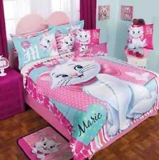 New Girls Bedding Disney Pretty Marie Softy Comforter Double Sided