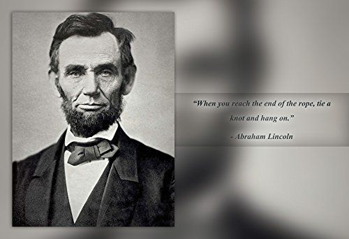 Abraham Lincoln Poster Photo Picture Framed Quote Abraham Lincoln