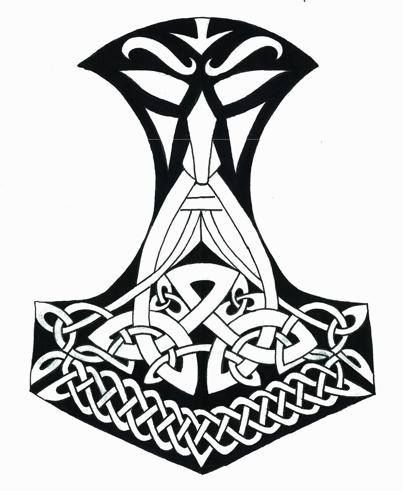 Traditional viking warrior tattoos 2