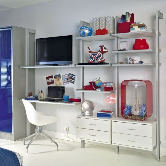 Boy\'s bedroom storage | Bedroom storage, Storage and Storage ideas