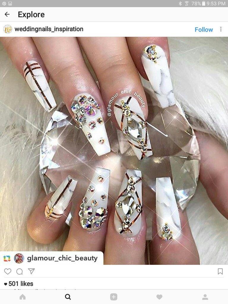 Pin de Courteney Greer en white nail polish   Pinterest   Diseños de ...