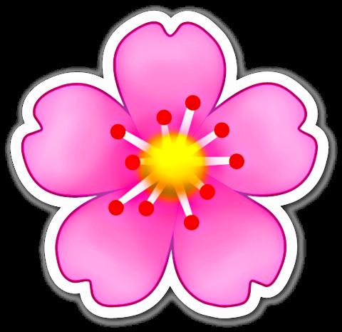 Sticker Peacock Feathers Emoji Stickers Emoji Flower Flower Clip