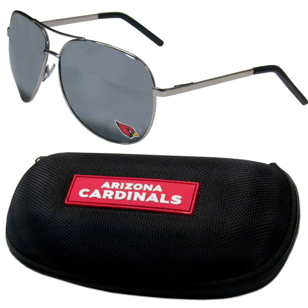 4dd81c4355 Aviator sunglasses are truly an iconic retro fashion statement that never  goes out-of-style. Our Arizona Cardinals aviator sunglasses pair this  classic look ...