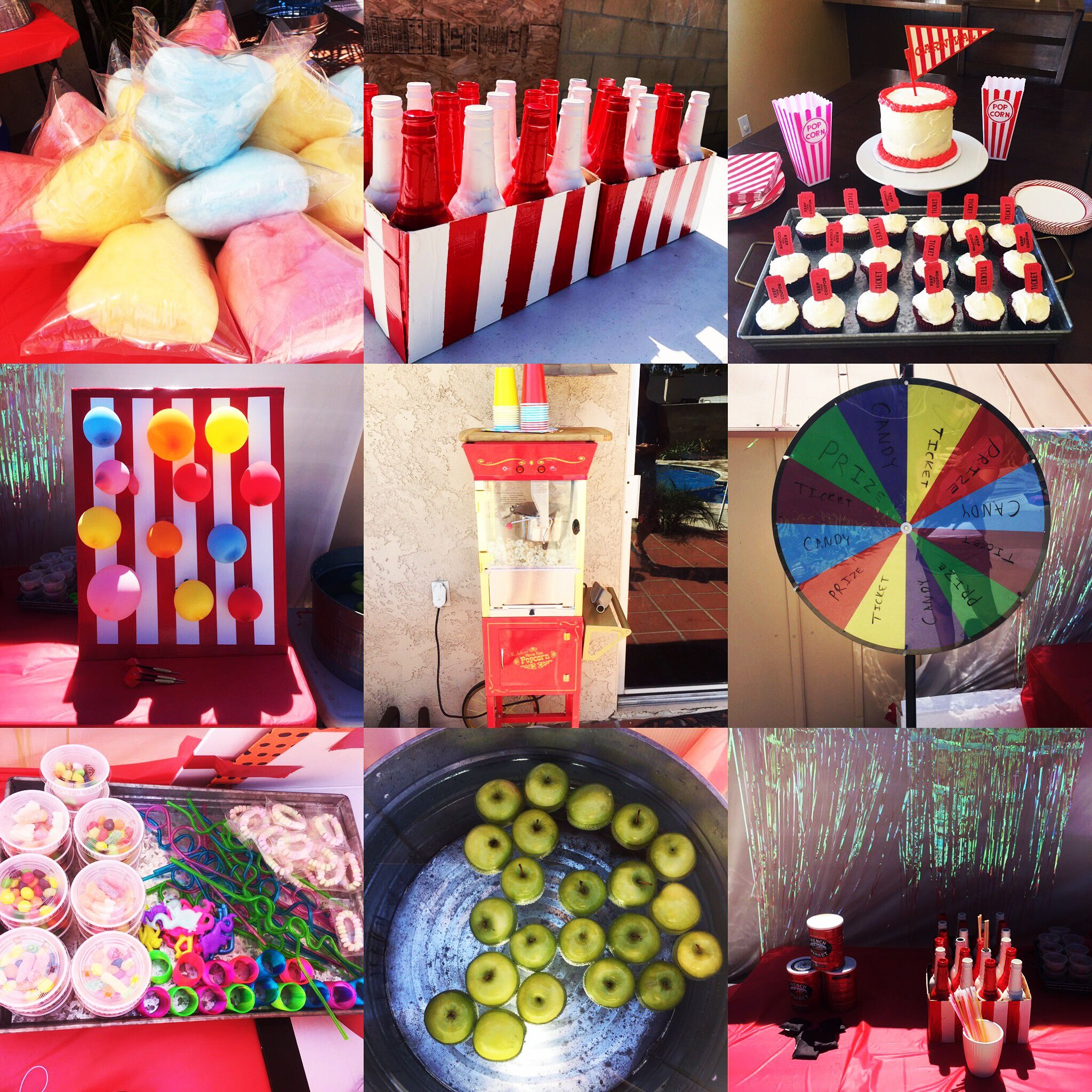 Carnival Birthday Party Ideas And Games Cotton Candy