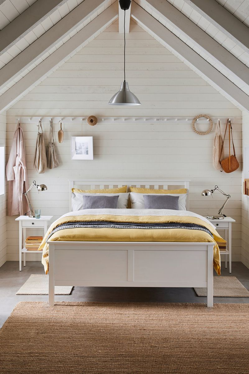 Hemnes Bettgestell Weiss Gebeizt Ikea Deutschland Hemnes Bed Ikea Hemnes Bed Bed Frame
