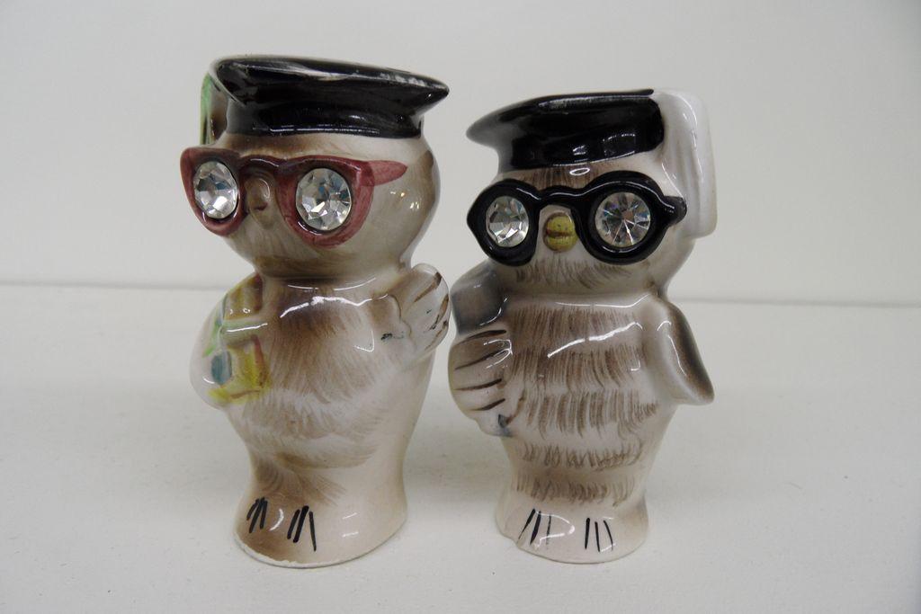 Vintage - Porcelain - Made in Japan - Salt and Pepper Shakers