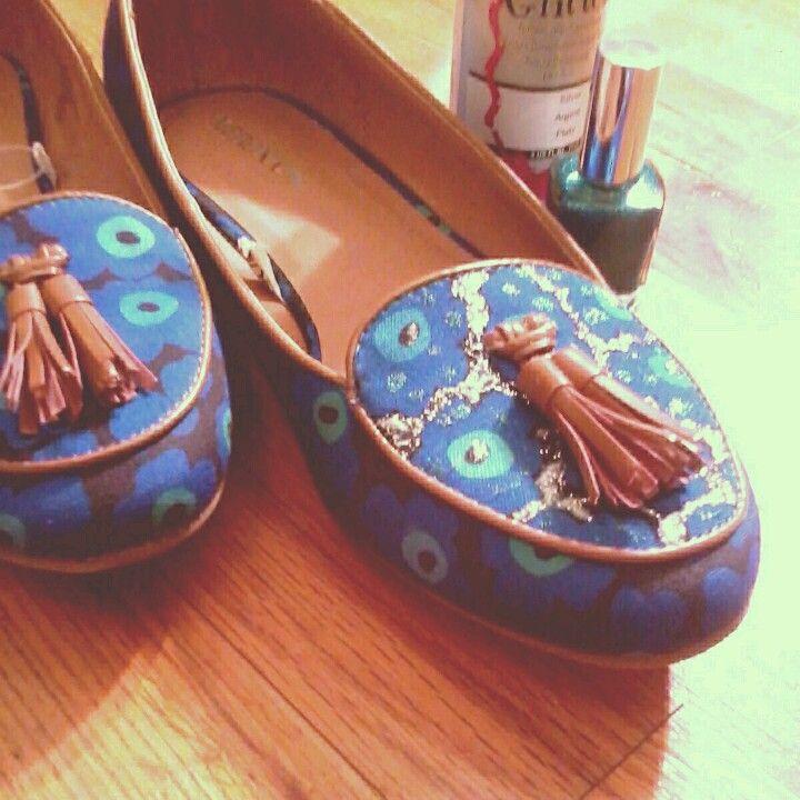 Turn grandma shoes into high fashion