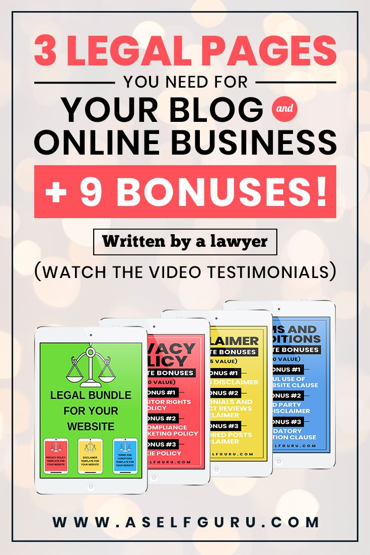 Legal Pages For Blogs To Make Them Legally Compliant Find Legal Tips For Blogs And Small Businesses Find Priva Blog Legal Blog Privacy Policy Blogging Advice