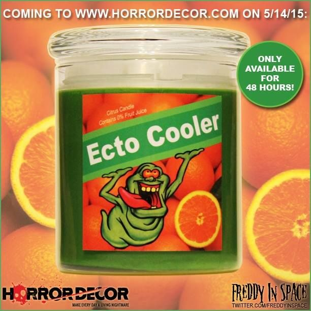 Ecto Cooler candle. Available 5/14 & 5/15 only. Sign me up!!