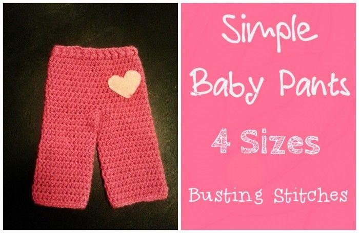 Easy pants pattern and it\'s free | Crochet | Pinterest | Häkeln