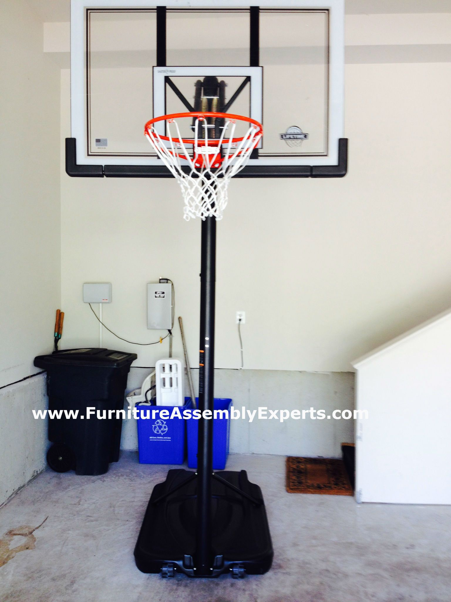 lifetime 44 portable basketball system assembly instructions