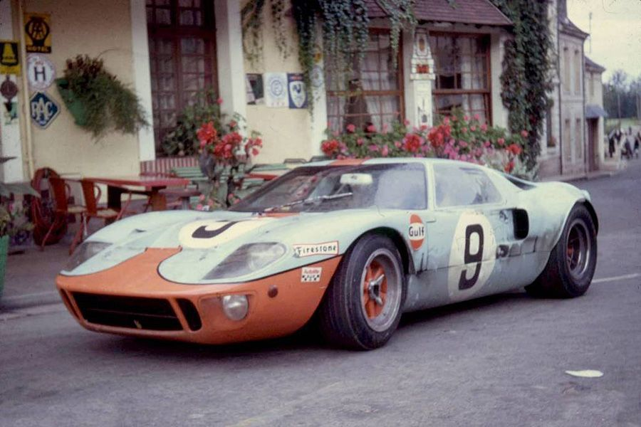 24 heures du mans 1968 ford gt40 9 pilotes pedro rodriguez lucien bianchi 1er gulf. Black Bedroom Furniture Sets. Home Design Ideas