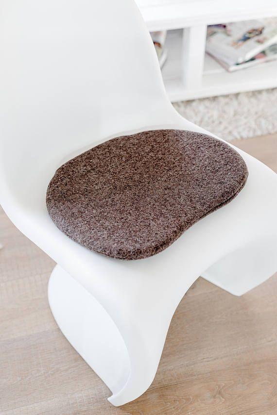 Stuhlkissen In Taupe, Passend Für Panton Chair, Limitiert | Eames  Sitzkissen | Seat Cushions For Eames | Panton Chair Sitzkissen | Pinterest  | Panton Chair, ...