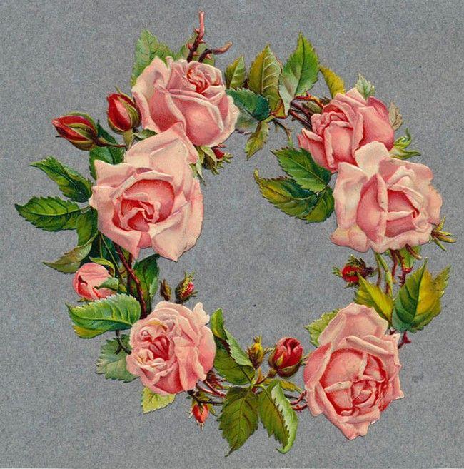 Victorian Scrap  —  Roses  (650x 657)