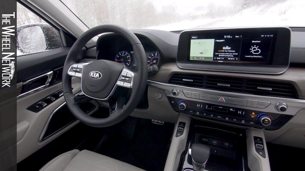 2020 Kia Telluride Interior Review And Price In 2020 Kia Telluride Inside Car