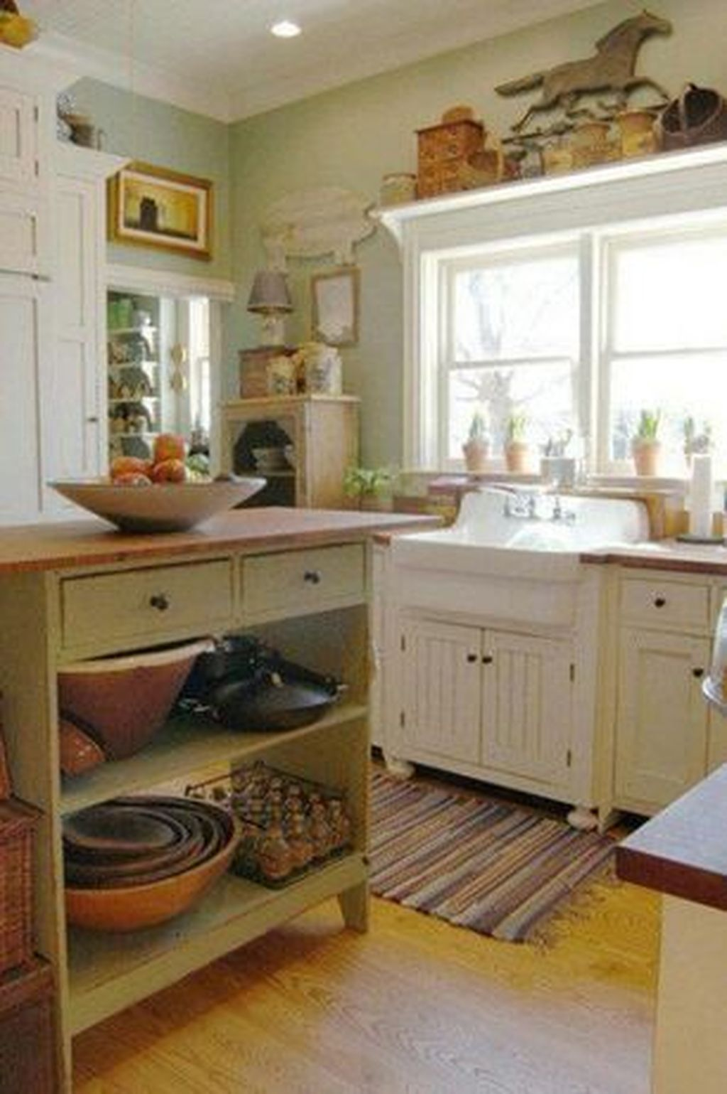 88 Modern European Farmhouse Kitchen Cabinet Ideas  Farmhouse New Cottage Style Kitchen Cabinets Decorating Design