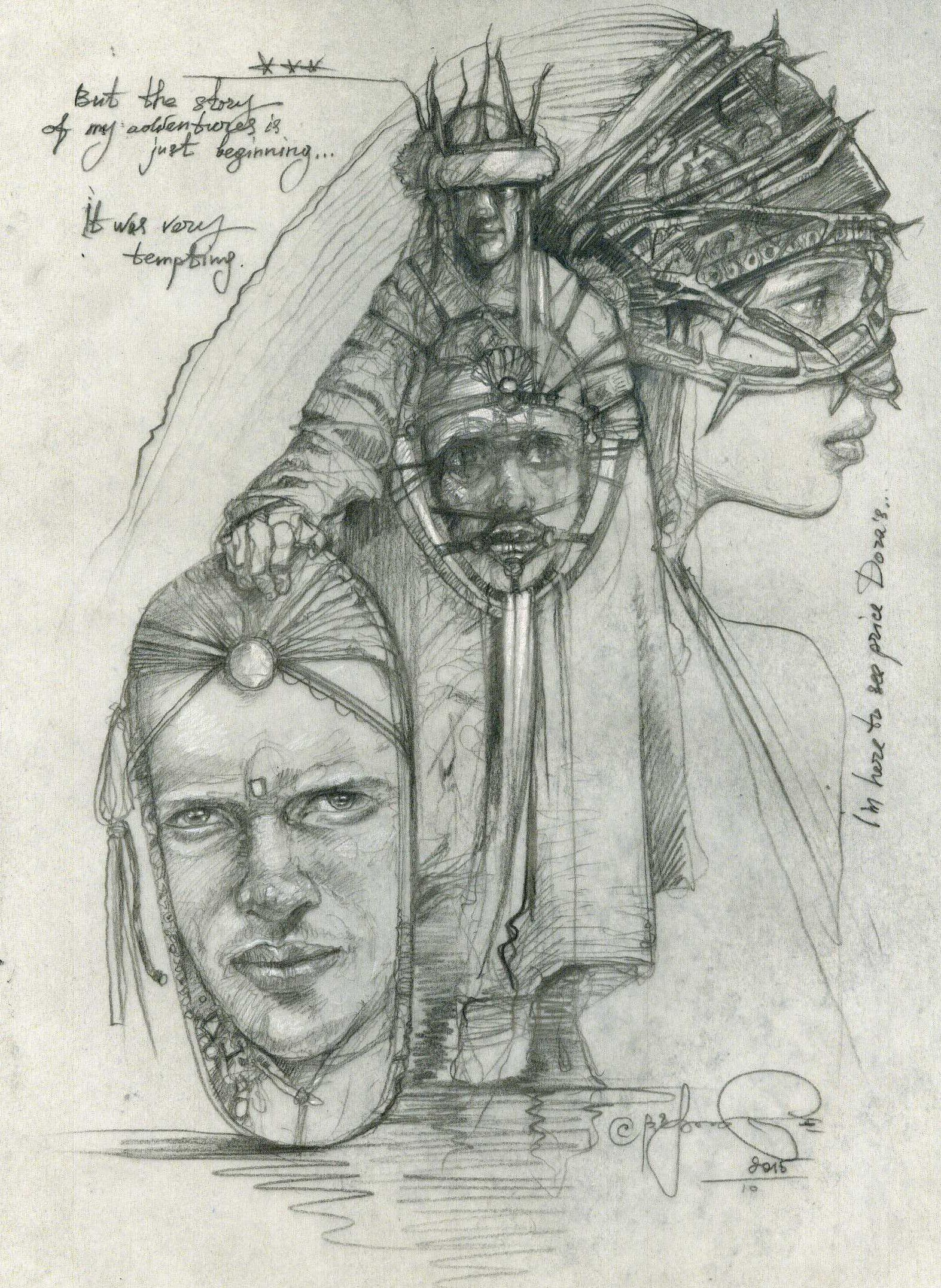 Author S Illustration For The Script My Name Is Dora