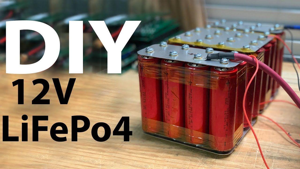 Build a DIY Lithium LiFePo4 Headway 12v Battery